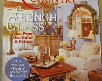 Romantic Country Magazine winter 2011 new selaed