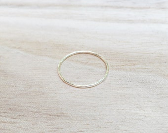 Sterling silver whisper ring, skinny sterling silver stacker, sterling silver ring, thin ring, skinny silver ring, dainty ring, stacking