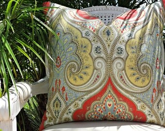 Kravet Latika Festival Custom Pillow Cover  20x20  Toss Pillow  Designer Pillow  Decorative Pillow Kravet Latika Linen Pillow