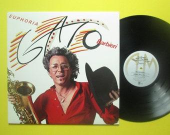 Vinyl Record Gato Barbieri Euphoria LP
