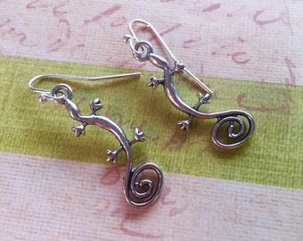 Little lizzard earrings