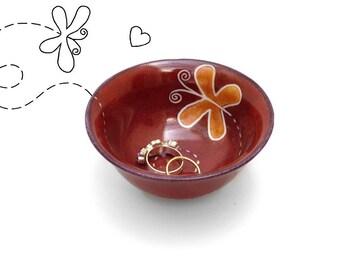 Valentine's Day gift, Valentines gift for her, Ring Dish, Ring holder