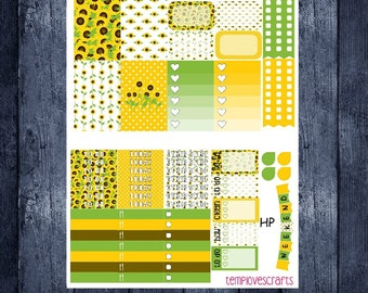 Sunny Sunflowers Kit for Happy Planner
