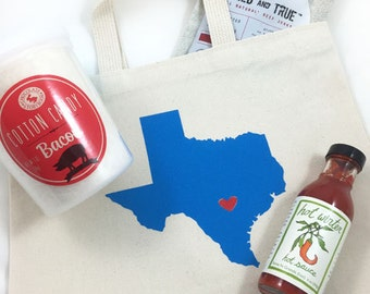 Set of 12 Texas Wedding Welcome Bags, Hotel tote bags, bachelorette tote bags