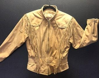 Butter Leather Fringe Jacket