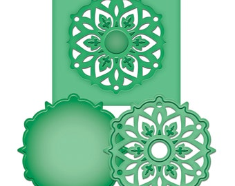 Spellbinders D-Lites MEDALLION EIGHT Cutting Dies S2-023 1.cc52