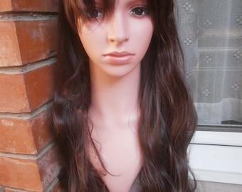 dark brown wig cosplay