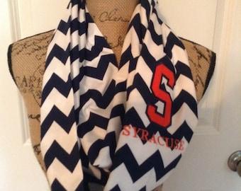 Syracuse infinity scarf