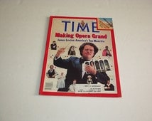 1983 Time Magazine JAMES LEVINE, Making Opera Grand *Ron Reagan *Israel Land Rush *Bill Walton *DC New Colossus *World News *Celebrities*Ads