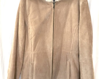 Sonoma suede and faux shearling XL jacket no sign of wear