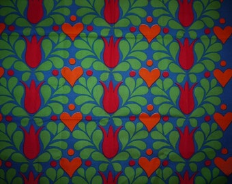Lovely Fabric - 60s - RETRO - Sweden - Scandinavian - Design - Craft - Mid century -