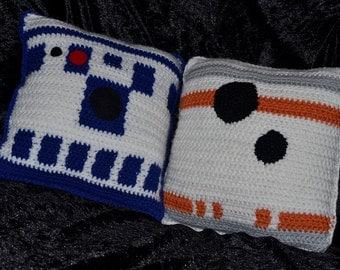 Star Wars Droid Pillows x2