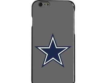 Hard Snap-On Case for Apple 5 5S SE 6 6S 7 Plus - CUSTOM Monogram - Any Colors - Dallas Star
