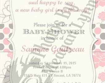 Baby Shower- Girl *Digital*