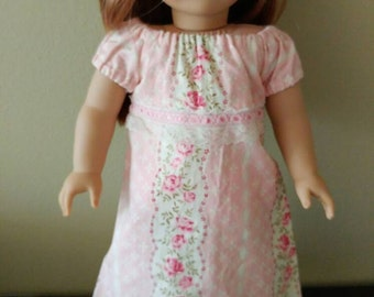18 inch American Girl Doll Nightgown pajamas