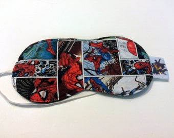 Spider-Man Sleep Mask, comic panel