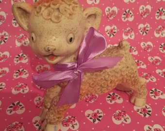 Vintage Combex Squeak Toy lamb