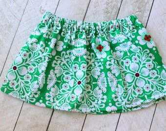 girls christmas skirt christmas skirt Christmas clothing for girls skirt baby girl skirt for christmas red green christmas outfit