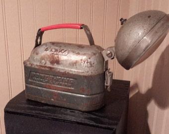 Antique Delta Power-King 12 volt Lantern