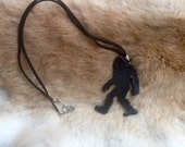 Black Bigfoot necklace back in stock!!