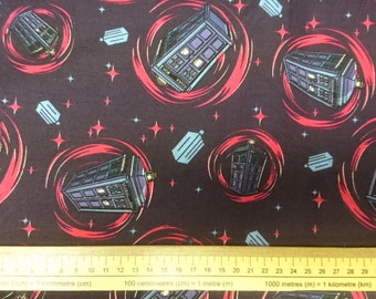 Doctor Who Tardis Fabrics