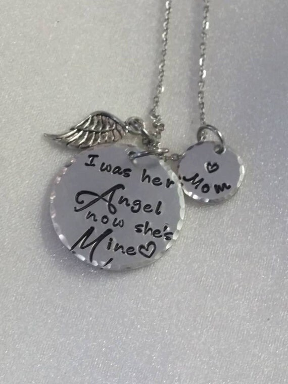 Sympathy Necklace - Sympathy Jewelry - Sympathy Gift - Loss of Loved One - Remembrance Gift - Angel Jewelry - Personalized - Loss Keepsake