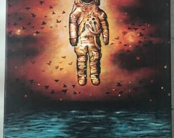 Brand New Deja Entendu Canvas Painting