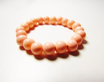 D-00913 - 20 Glasperlen 6mm Peach