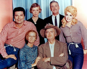 Cast of the The Beverly Hillbillies, 1960's