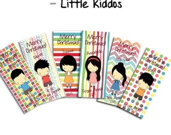 Personalised Little Kiddos Bookmarks