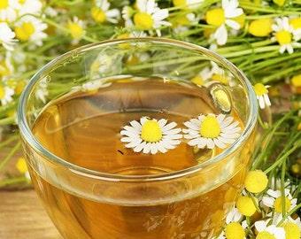 Chamomile Ginger Tea, Chamomile Herbal Tea, Chamomile Loose Leaf Herbal Tea
