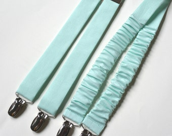 suspenders for kids,mint suspenders,cotton suspenders