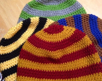Harry Potter Hogwarts House Colors Inspired Beanie