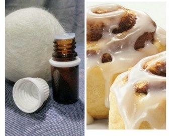 CinnaBun Scent,Wool Dryer Ball Scents,oils,cloth diapers,dryer ball,felted ball,dryer balls set,refill,secret garden,fragrance,laundry