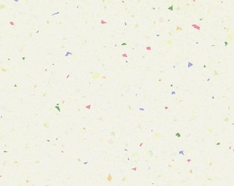 RJR Confetti Basics Off white with Color speckles on it Fabric 5214-001 BTY