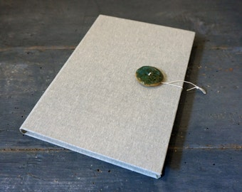 Ceramic Oxidation # 1-Hand-bound Journal