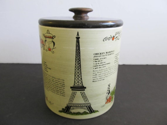 Ransburg Canister Eiffel Tower Canister Ransburg Canister