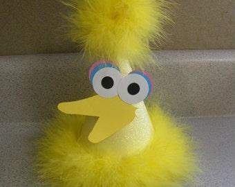 sesame street big bird birthday party hat  party supplies
