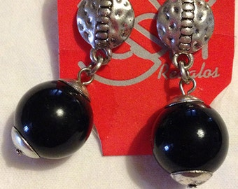 Earrings negros2