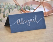 ORDER FOR CARLY - Custom Calligraphy Place Cards - Handwritten - Wedding