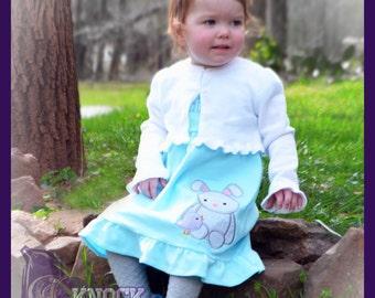 Easter Appliqued Dress