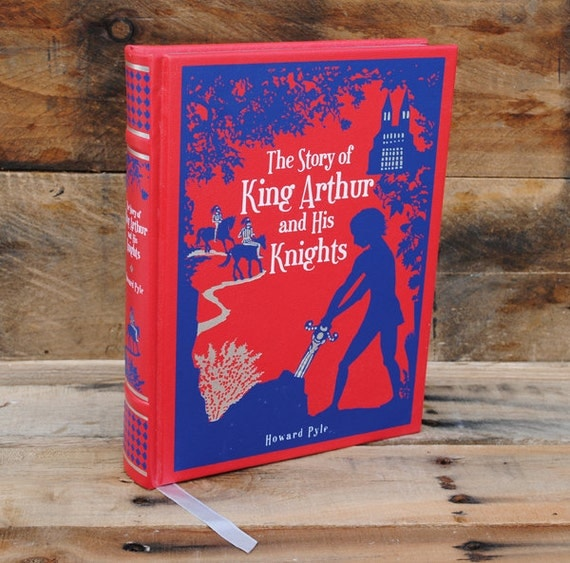 Hollow Book Safe - King Arthur and His Knights - Leather Bound