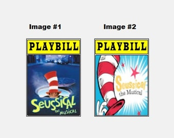 Theater / Show Charm - Playbill Play Bill - Seussical