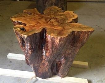 Live Edge Tables - Tree Stump Table - Tree Stump Side Table - Tree Stump End Table - Live Edge Furniture - Live Edge Wood Table (61)