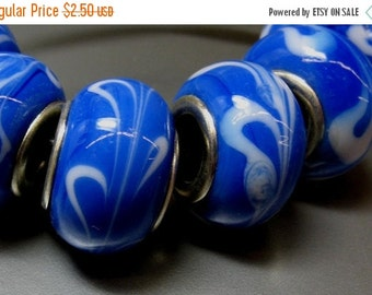 15% OFF 4 Lampwork European Beads - Item 50914