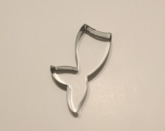"4.25""  Mermaid Tail Cookie Cutter"