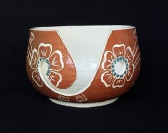 Yarn Bowl Henna design