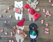 PDF: Christmas Candy Huggers