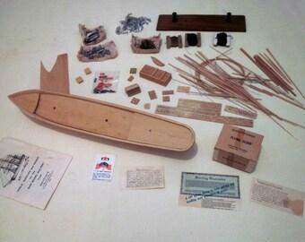Wood Ship Model Kit