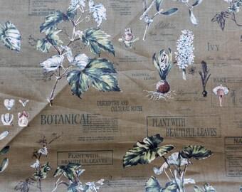 SALE!! Yuwa- Botanical Print in Green